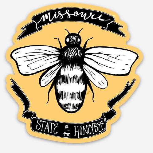 Missouri Honeybee Sticker