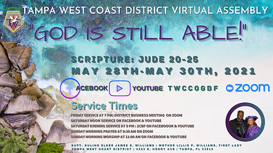 Tampa West Coast District Virtual Assembly