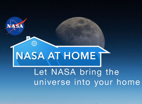 Blast Off to Adventure with NASA at Home