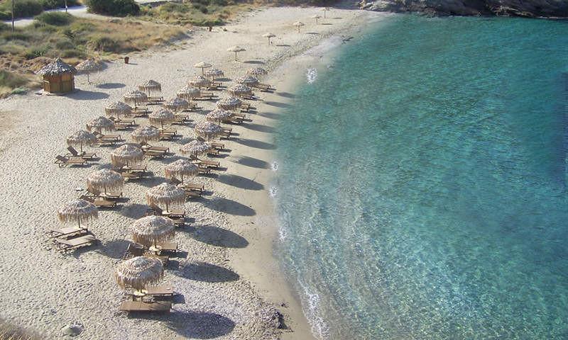 Кея, пляж