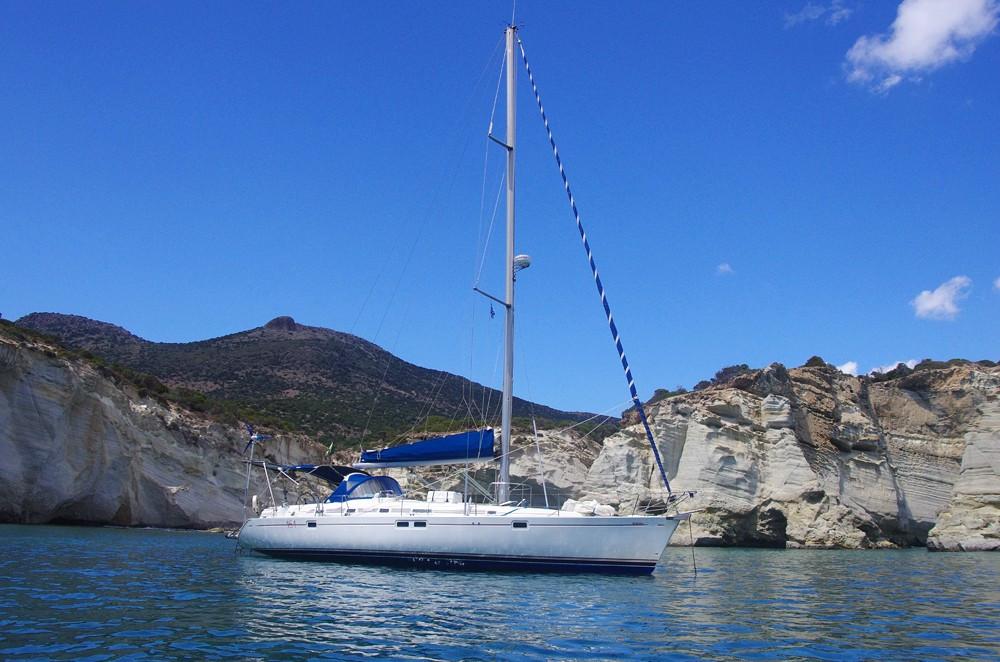 лодка на прокат в Греции