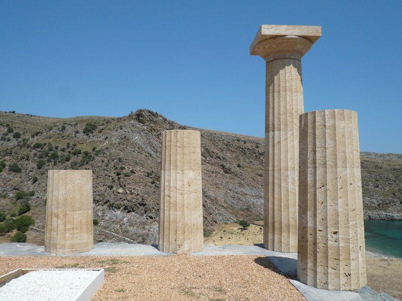 Античные колонный, Кея