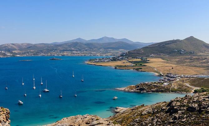 """Яхтинг в Греции. Незабываемый отдых на """"мраморном"""" острове Парос"""