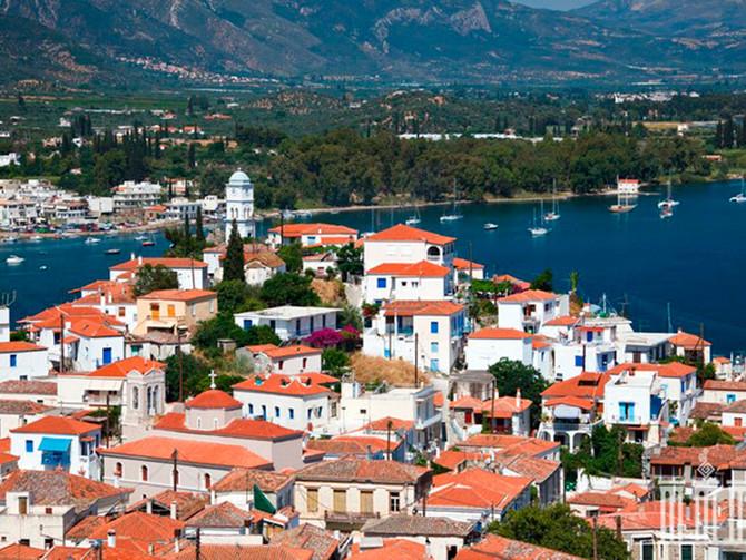 Яхтинг в Греции. Увлекательный отдых на яхте в водах острова Порос.