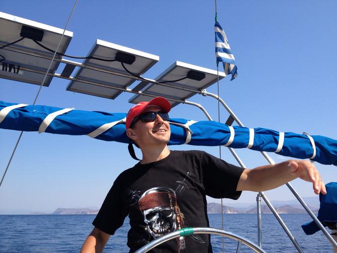 Обучение на шкипера в Греции