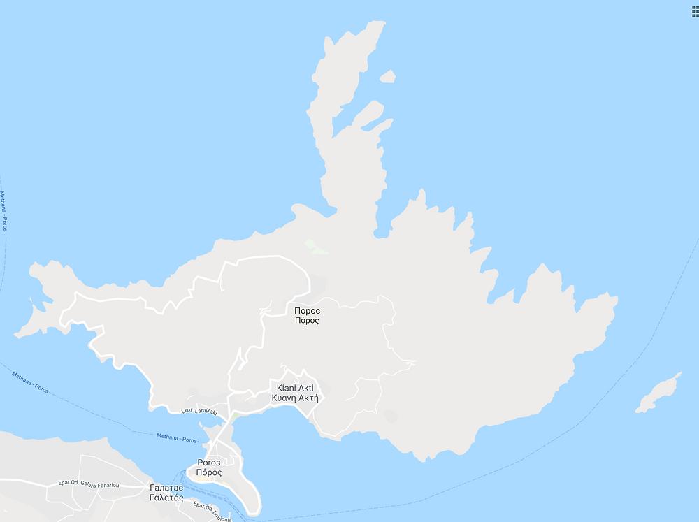 Карта пороса