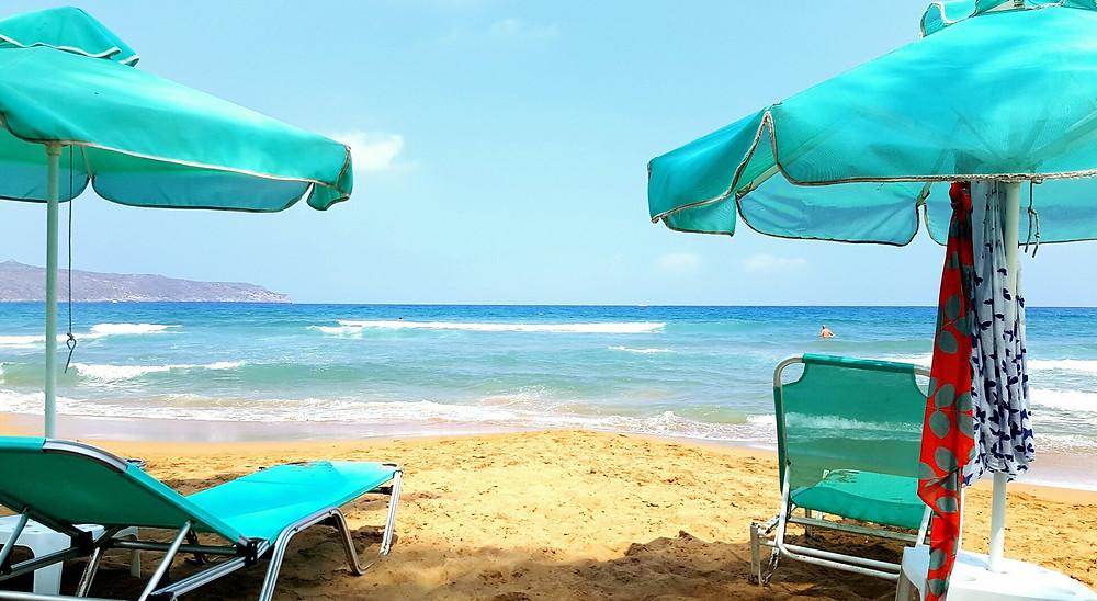 Пляж Агия Марина