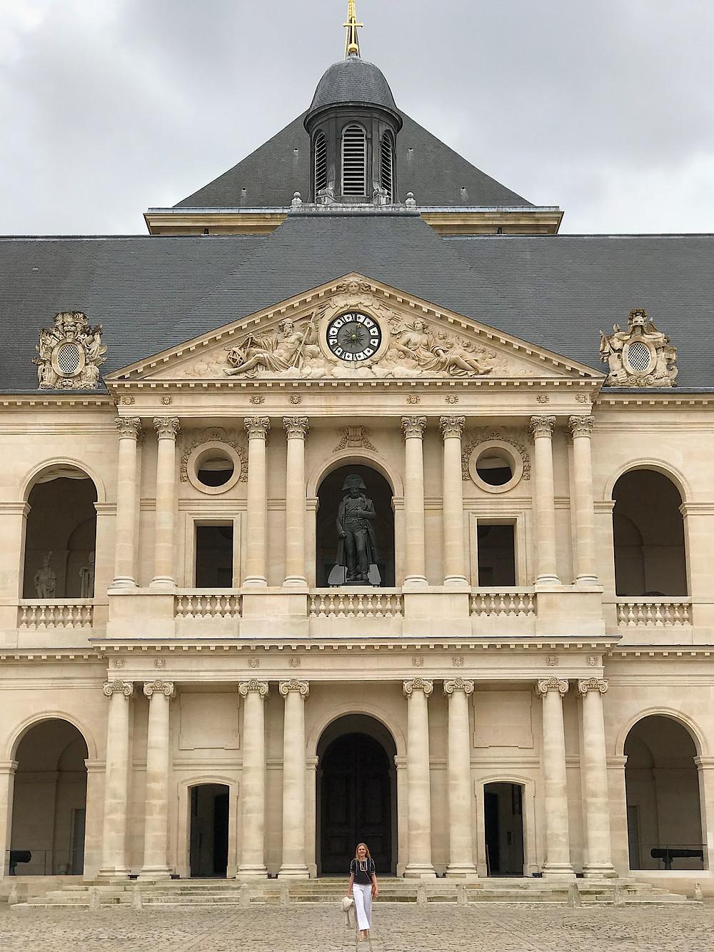 Woman at Les Invalides