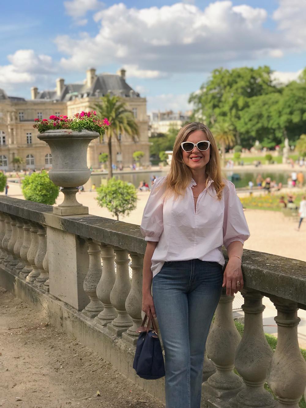 woman in Jardin du Luxembourg