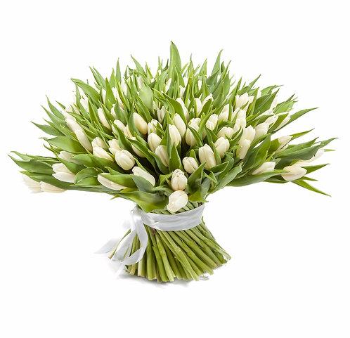 101 тюльпан доставка