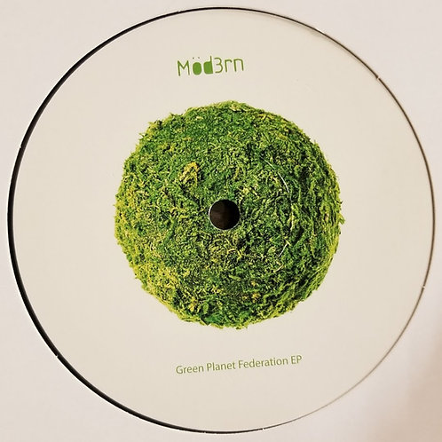 "Mod3rn ""Green Planet Federation EP"""
