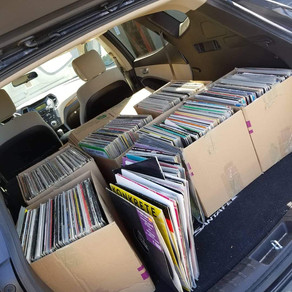 The sickest record collection just picked up