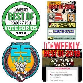 "Vote 4 Dr. Freecloud's ""Best Record Store"" in OC"