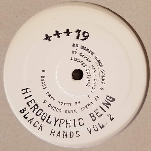 "Hieroglyphic Being ""Black Hands Vol. 1"""