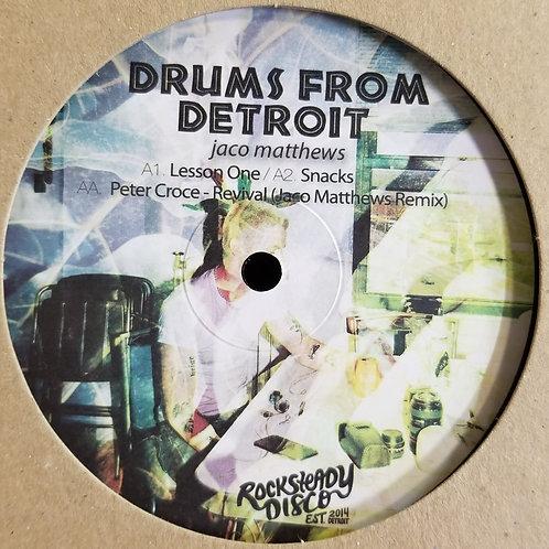 "Jaco Matthews, Peter Croce ""Drums From Detroit"""