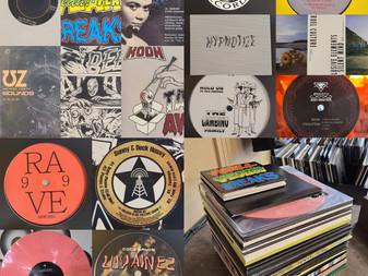 New Techno, Jungle, Rave, Hardcore, Acid, Electro Vinyl Shipment