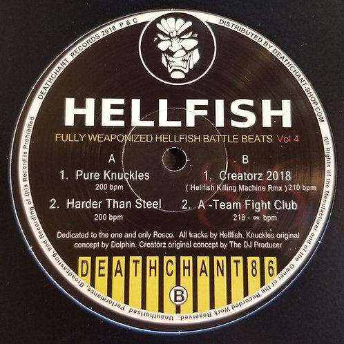 "Hellfish ""Fully Weaponized Hellfish Battle Beats Vol 4"""