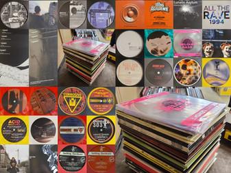 Brand new Techno, Hardcore, Acid, Rave, Jungle Vinyl