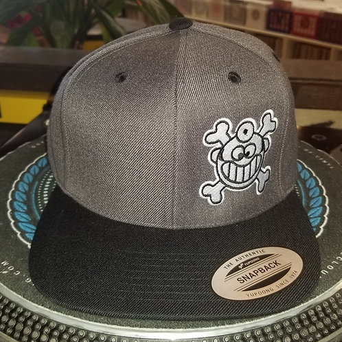 "Dr. Freecloud's Official Logo Hat ""Black/Grey"""