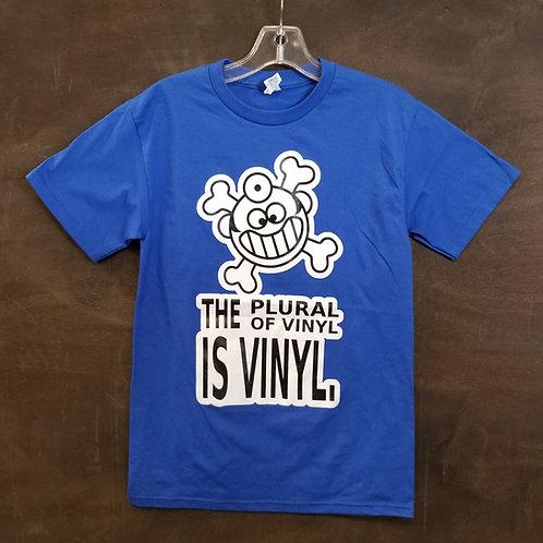 "Dr. Freecloud's - Plural Of Vinyl Is Vinyl ""t-shirt"""