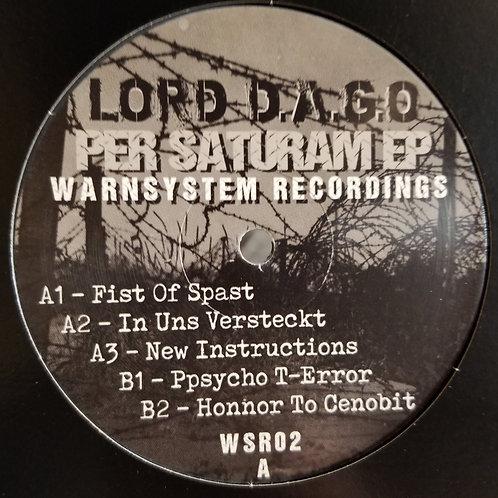 "Lord D.A.G.O ""Per Saturam EP"""
