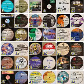 Rare U.S. hard house vinyl collection