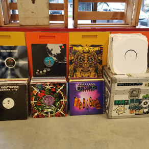 DJ Thee-O's record collection selling NOW!