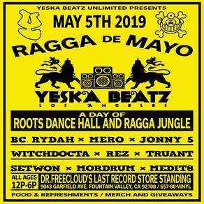 Ragga De Mayo - Free in store event