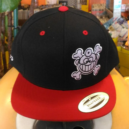 """Dr. Freecloud's Official Logo Hat """"Black/Red"""""""