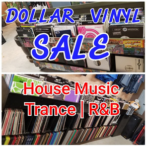 Dollar Vinyl Sale going on right now!