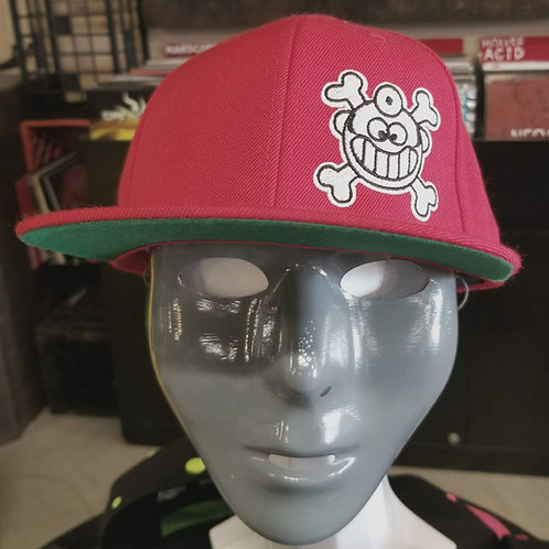 """Dr. Freecloud's Official Logo Hat """"Red"""""""