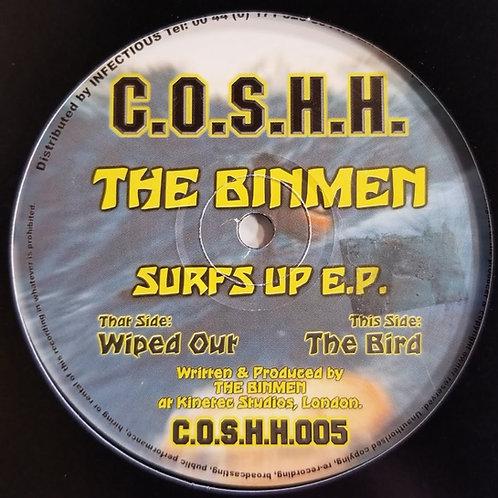 """The Binmen """"Surfs Up"""""""