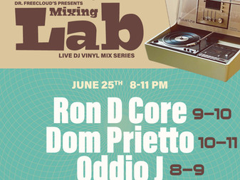 """Tonight is...Dr. Freecloud's """"Mixing Lab"""" Riders of the Plastic Groove live broadcast"""