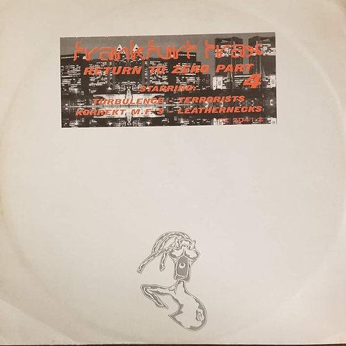 "Various Artists ""Frankfurt Trax Volume 6 – Return To Zero Part 4"""