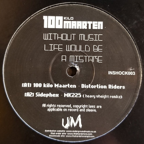"""100 Kilo Maarten Without Music Life Would Be A Mistake"""""""