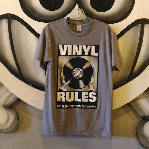 "Vinyl Rules ""T-Shirt"""