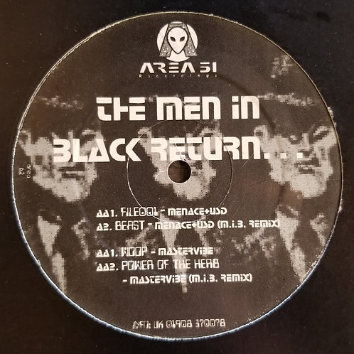 "Menace, USD & Mastervibe ""The Men In Black Return..."""