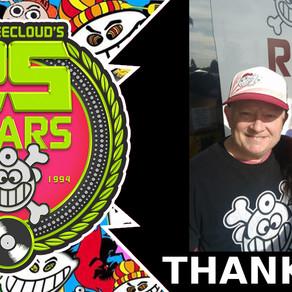 "Huge Thank You ""25 Year Anniversary Celebration"""
