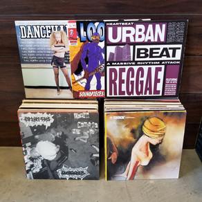 Fresh used vinyl collection of Hip Hop & Dancehall Reggae