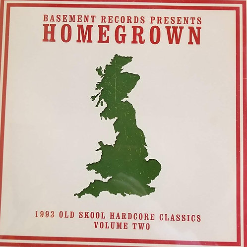"""Various Artists """"Homegrown - 1993 Old Skool Hardcore Classics Volume Two"""""""
