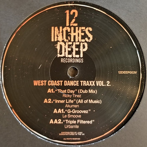 "Various Artists ""West Coast Dance Traxx Vol. 2"""