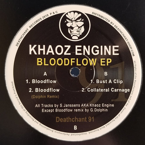 "Khaoz Engine ""Bloodflow EP"""