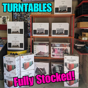 NEW Turntables ((Fully Stocked))