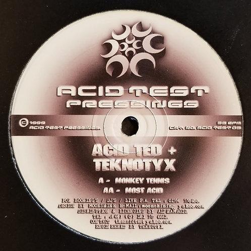 "Acid Ted & Teknotyx ""Monkey Tennis"""