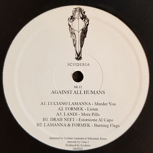 "Various Artists ""Against All Humans"""