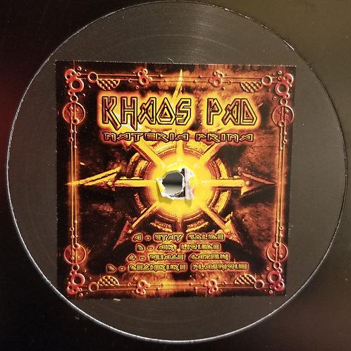 """Khaos Pad """"Materia Prima"""""""