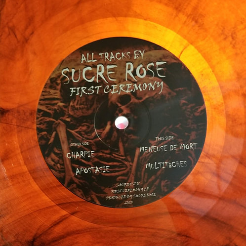 "Sucre Rose ""First Ceremony EP"""