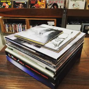 Used stack of quality Indie Rock Vinyl
