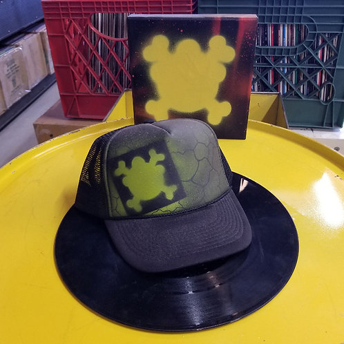 """Dr. Freecloud """"Hand Painted Graf"""" Trucker Hats"""
