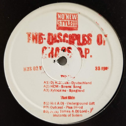 """Various Artists """"The Disciples Of Chaos E.P."""""""